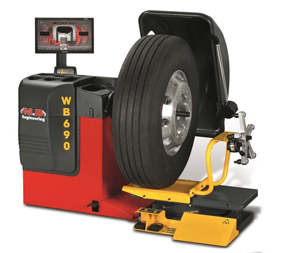 WB 690 Truck wheel balancer