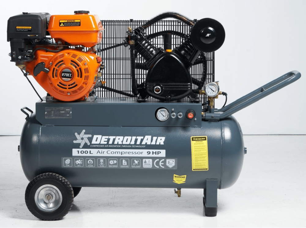 Petrol Compressor 9 hp