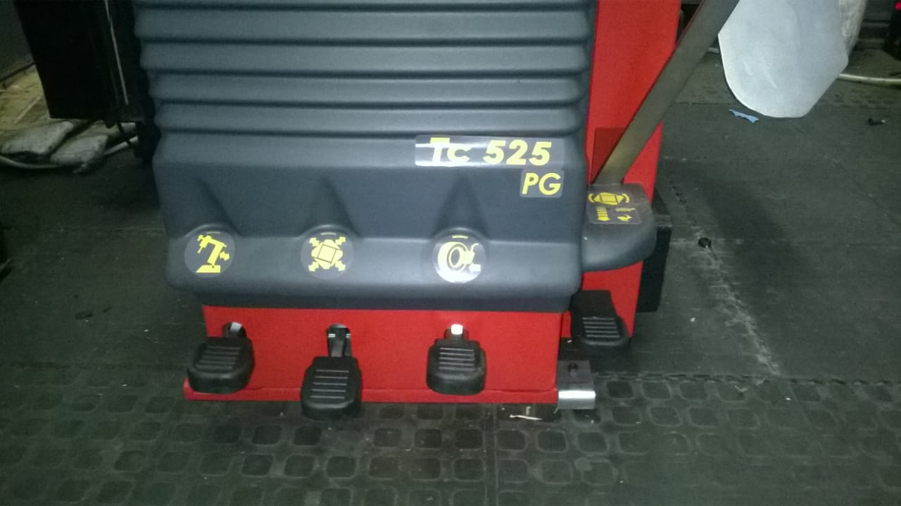 Rubber Coated Foot pedals