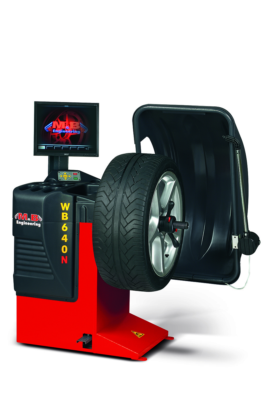M&b 640n Video Wheel Balancer