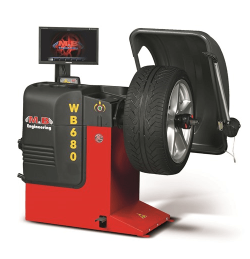 M&b 680 Video Wheel Balancer