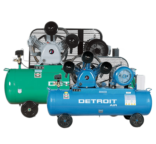 Two Detroit Piston Compressors