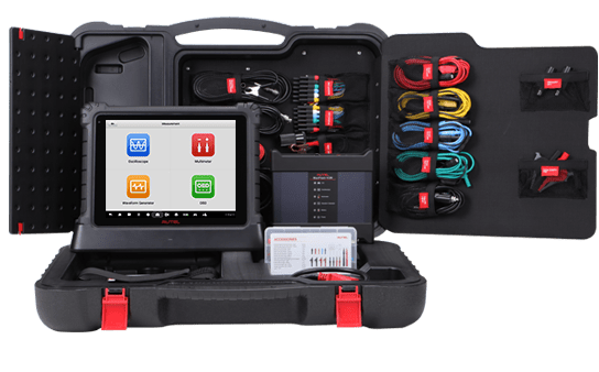 autel maxisys ultra inside carrycase